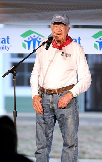 Jimmy Carter - HABITAT FOR HUMANITY OF GREATER MEMPHIS