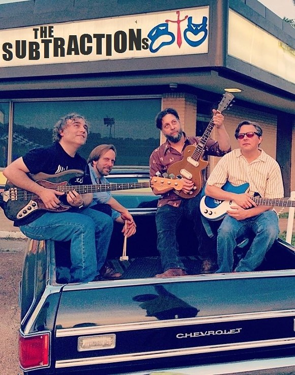 The Subtractions play Sweatfest II this afternoon.