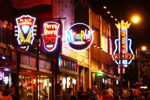 Beale Street is Tennessee's top tourist destination.