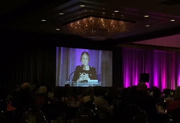 Gloria Steinem at the PPGMR James Awards