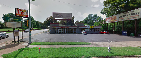 The current shops at the corner of East Parkway and Central. - GOOGLE MAPS