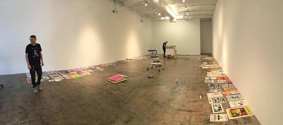 "Crosstown Arts prepares for ""Torn Down by Thursday"" - COURTESY OF GONER RECORDS"