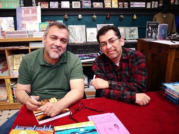 Gilbert and Jaime Hernandez