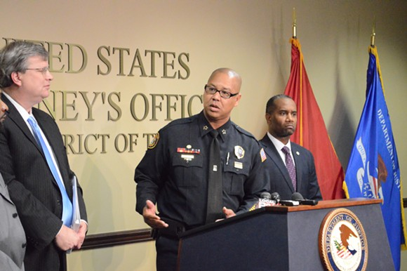 """This is the right thing to do."" Memphis Police Director Michael Rallings announced a partnership with the Department of Justice that will focus on reviewing the MPD's community policing policies and use of deadly force. - MICAELA WATTS"