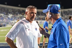 Mike Norvell and Matt Dillon - LARRY KUZNIEWSKI