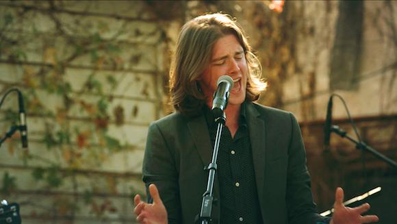 Singer Nick Black performs in Verge