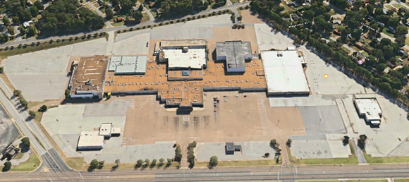 The enormous site that was once home to the Raleigh Springs Mall could soon become a town center. - APPLE MAPS