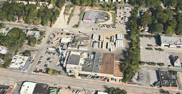 An aerial view of the Prairie Farms facility on Madison. - APPLE MAPS