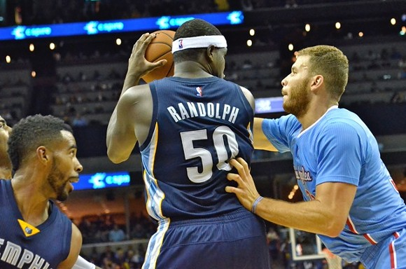 Grizzlies/Clippers made a comeback last night. - LARRY KUZNIEWSKI