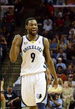 Tony Allen tied his career record for field goal attempts with 17 last night. - LARRY KUZNIEWSKI
