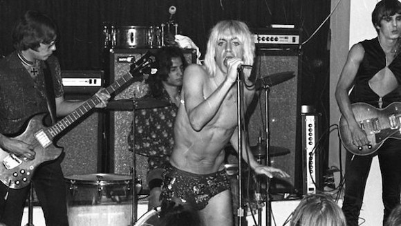 Iggy Pop and the Stooges in Gimme Danger.