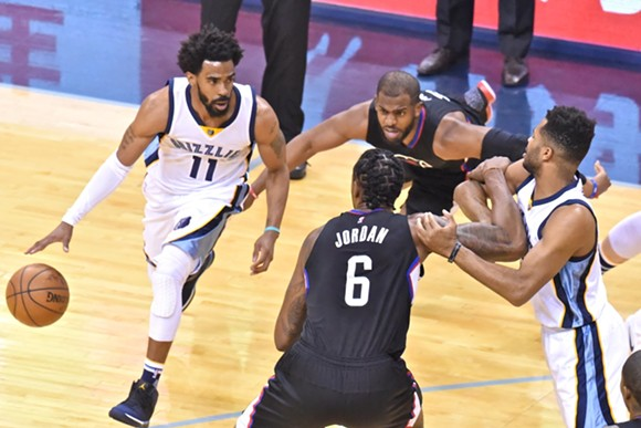 The Grizzlies played like nothing was at stake last night, and they weren't wrong. - LARRY KUZNIEWSKI