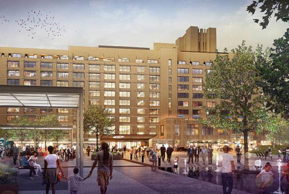 RENDERING COURTESY OF CROSSTOWN CONCOURSE