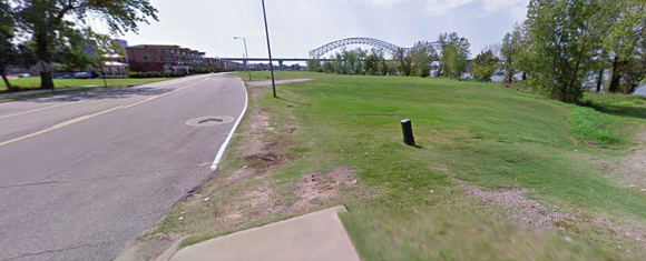 The corner of A. W. Willis and Island Drive, the proposed site for a new dog park. - GOOGLE MAPS
