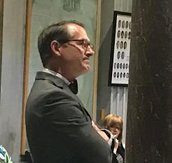 Watson on the Senate floor Tuesday - JB