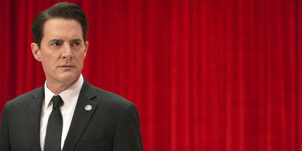 Kyle MacLachlan as Agent Dale Cooper lost in the Black Lodge in the revival of Twin Peaks.