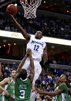 The best photo I could find of Tyreke in a Memphis jersey. - LARRY KUZNIEWSKI/MEMPHIS FLYER