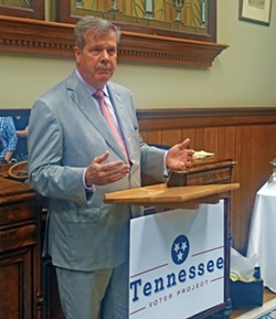 Karl Dean at Tennessee Voter Project event - JB