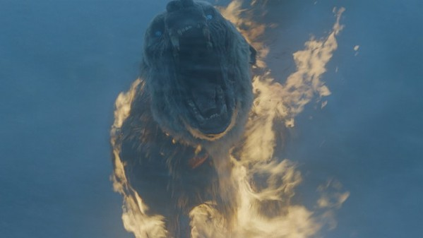 On the plus side, Flaming zombie polar bears.
