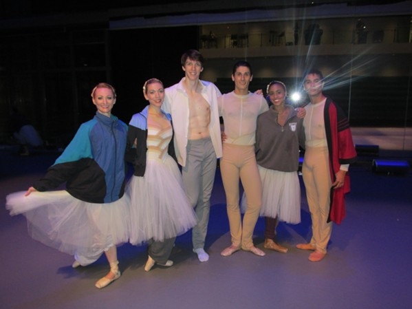 Grand opening of new Ballet Memphis headquarters. - MICHAEL DONAHUE