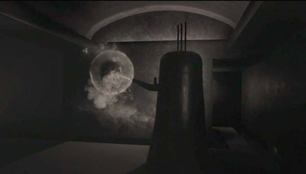 A glimpse into the spirit world of Twin Peaks. Pictured, a giant teapot that used to be David Bowie.