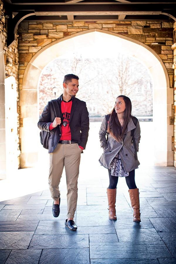 DACA students at Rhodes College - JUSTIN FOX BURKS