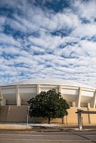 The MidSouth Coliseum. - BRANDON DILL