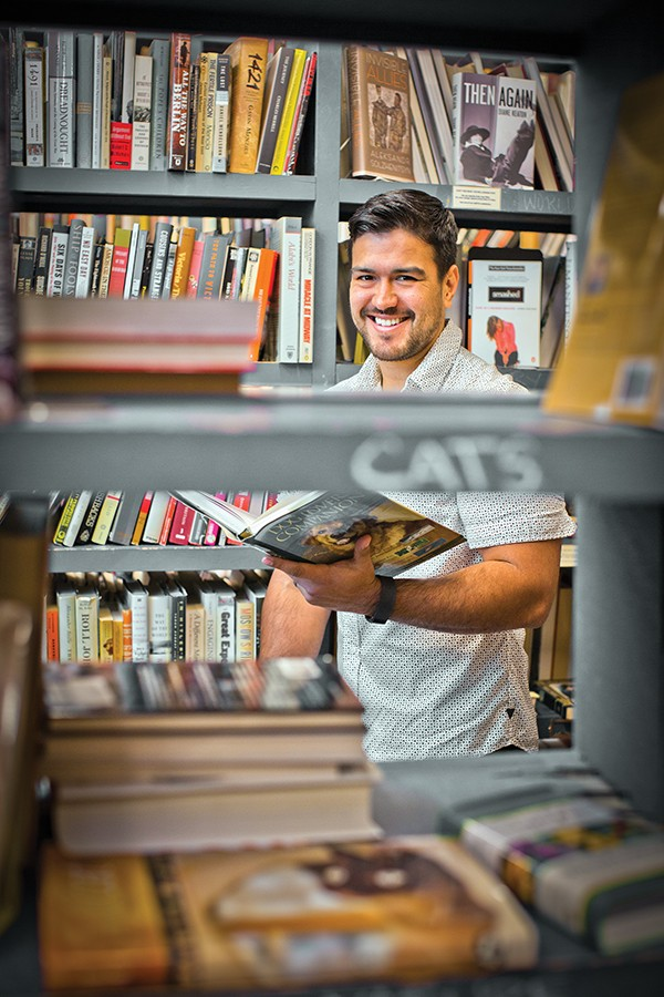 Burke's Book Store - JUSTIN FOX BURKS