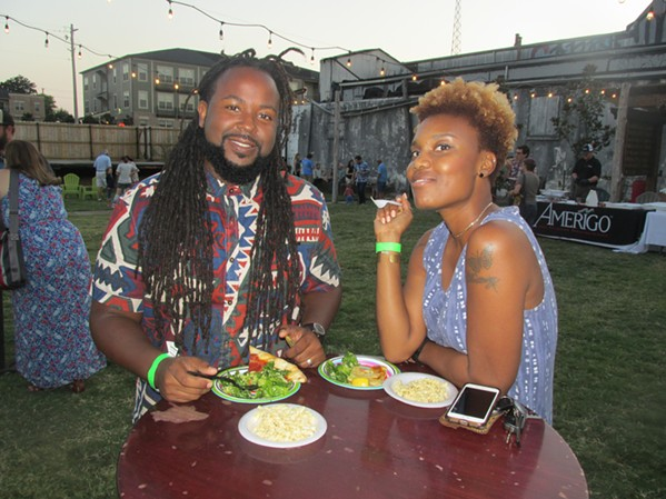 Jamond and Brittney Bullock at Farm Fest. - MICHAEL DONAHUE