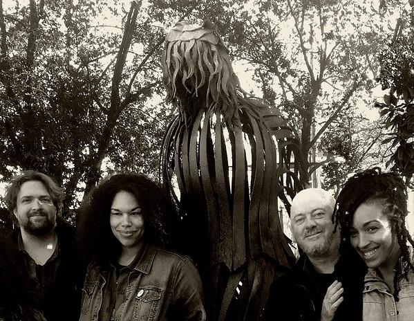 John Szymanski, Bethany Thomas, Jon Langford, and Tawny Newsome  of Four Lost Souls