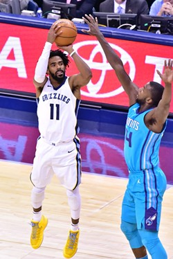 Mike Conley continues to struggle. - LARRY KUZNIEWSKI