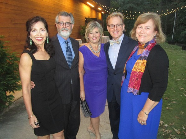 Peggy Reisser, Mark Winburne, Jennifer Biggs, James Dowd and Lela Garlington were at the VOX Awards - MICHAEL DONAHUE