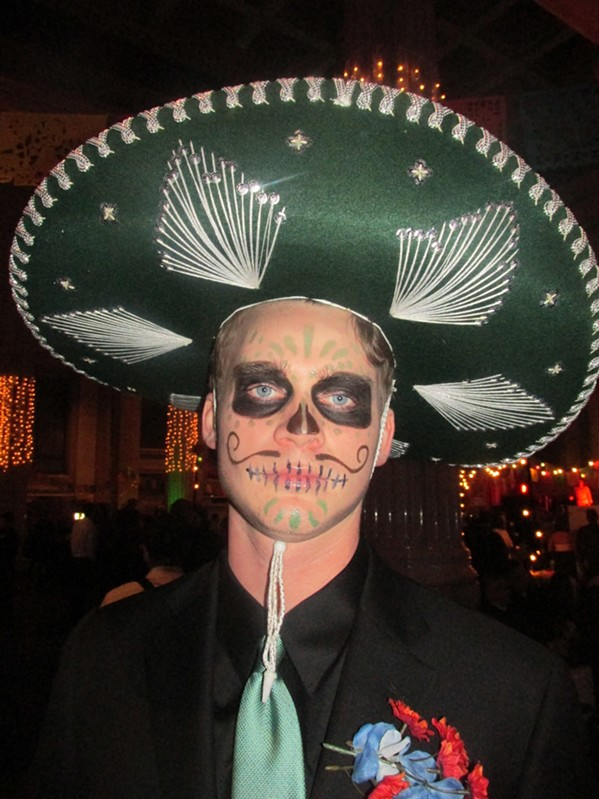 Dia de los Muertos or Day of the Dead fiesta was held at The Columns. - MICHAEL DONAHUE