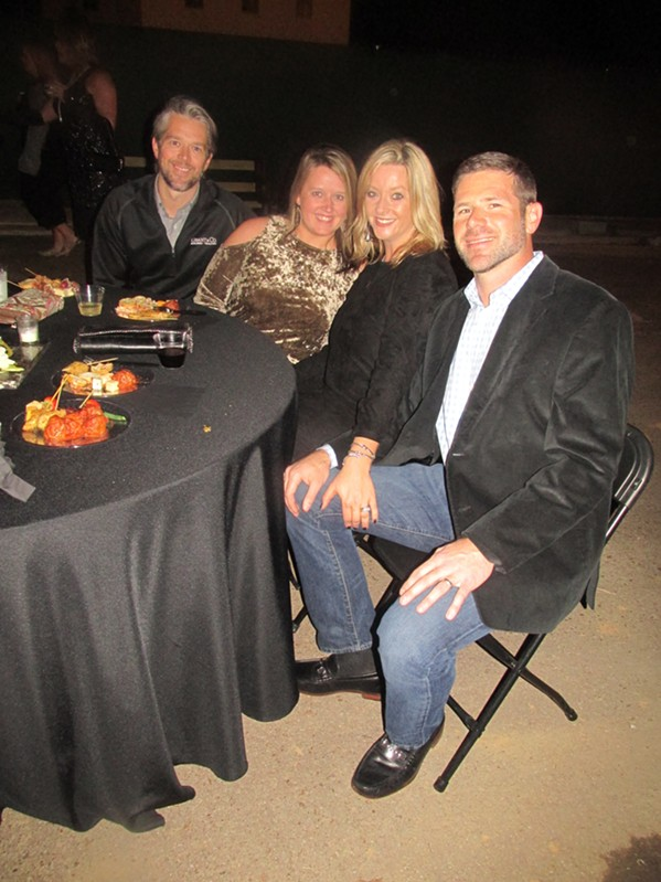 Music, food and visits to houses were on tap at the VESTA Home Show industry preview party. - MICHAEL DONAHUE