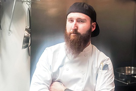 Chef Conrad Phillips Is Carving a Niche at Caritas