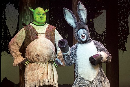 Slick productions of <i>Shrek</i> and <i>9 to 5</i> are sure to please.