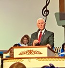 Pence, in Memphis, Pays Homage to MLK and Touts Trump Accomplishments