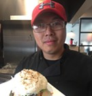 Best Bets: Sushi Jimmi's Sushi Burger at Saltwater Crab