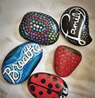 Group Paints, Hides Rocks Around Memphis