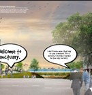Artist Renderings for RDC Riverfront Seen as a Comic Book...