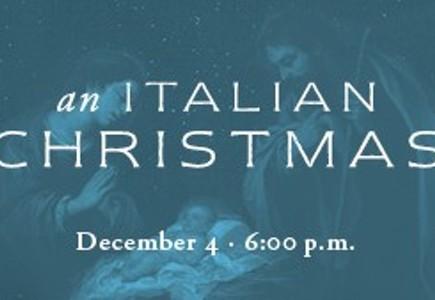 Christmas Concert: An Italian Christmas