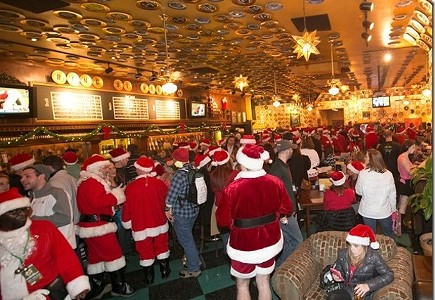 Bob & Roland's 12th Annual Stumbling Santa Pub Crawl