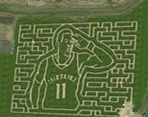 Grizz 'Conductor' Mike Conley Celebrated as Mid-South Maze 'Corn-ductor'