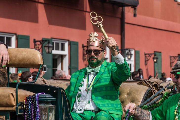 St. Patrick's Day on Beale