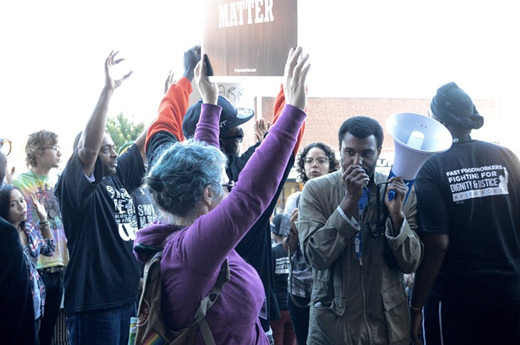 Justice for Darrius Stewart Rally