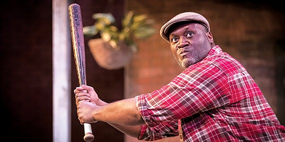 Willis Green (above) in Fences