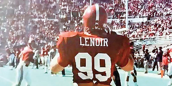 Lenoir as Crimson Tide athlete