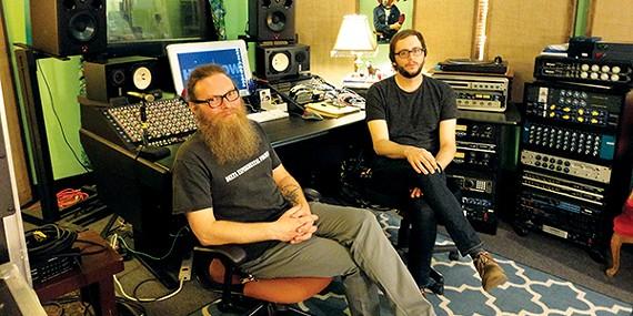 Pete Matthews (left) and Toby Vest