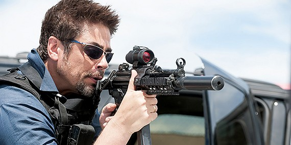 Drug war film Sicario.