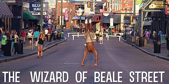 Director Dave Goudge's documentary The Wizard of Beale Street profiles Beale Street Flippers leader Rod Bonds.